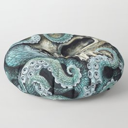 Please my love, don't die so far from the sea... Floor Pillow