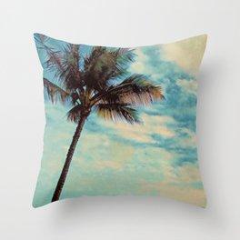 Kauai Palm Throw Pillow
