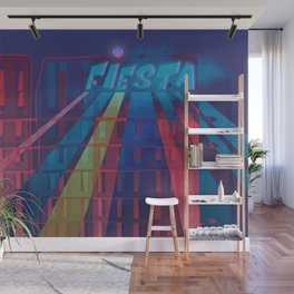 Urban Summer / Fiesta Wall Mural