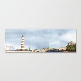 Aveiro landscape Canvas Print