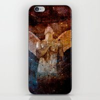 angel iPhone & iPod Skins featuring angel  by mark ashkenazi