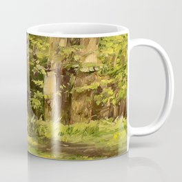 Woodland Landscape Nature Art Coffee Mug