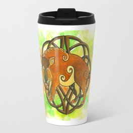Celtic Boar Travel Mug