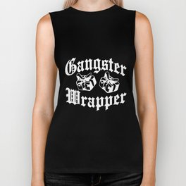 Gangster Wrapper Funny Christmas Gift viking Biker Tank