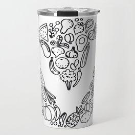 V Vegetables Travel Mug