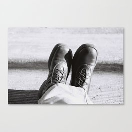 my boots Canvas Print