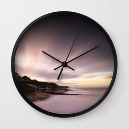 Cromer Sunset Wall Clock