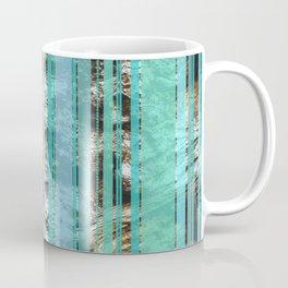 Blue & Wood Coffee Mug