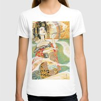 klimt T-shirts featuring Klimt Oiran by Sara Richard