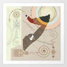 Ethiopia Soaring Art Print
