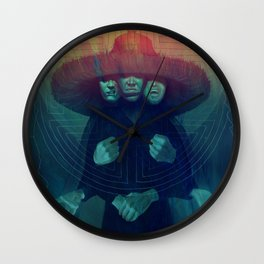 Three Storms Wall Clock