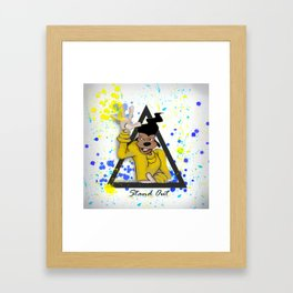 Stand Out/ Goofy Movie Framed Art Print