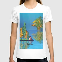 Land Of The American Natives No. 5 T-shirt