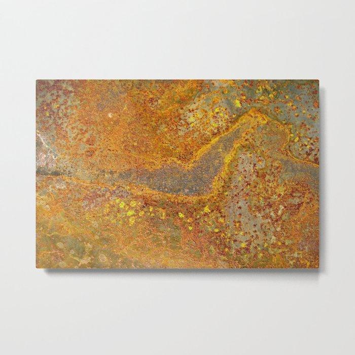 Metal Texture 2 Metal Print