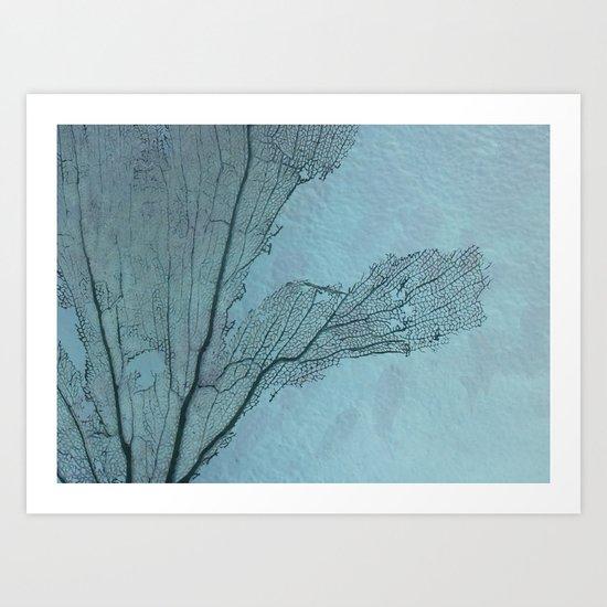 The screen Art Print