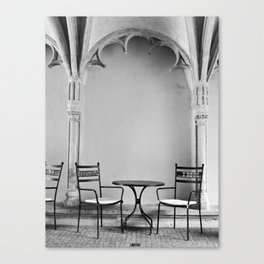 A Place For Coffee Canvas Print