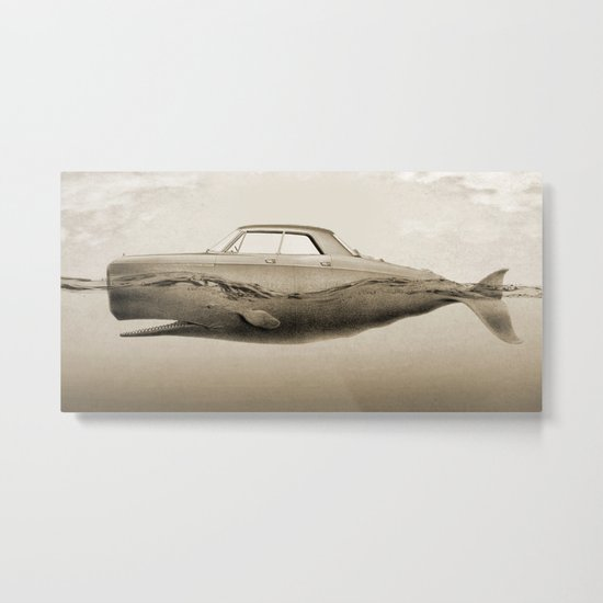 the Buick of the sea Metal Print