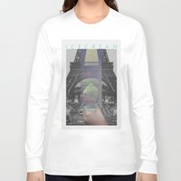 icecream Long Sleeve T-shirts featuring Icecream by john muyargas