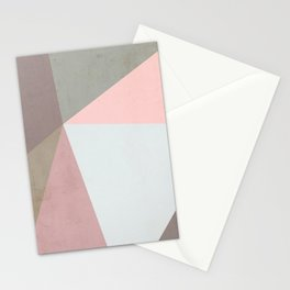 Delicate Geometry Stationery Cards