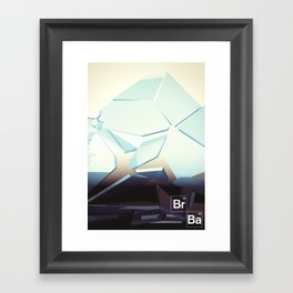 Breaking Bad Framed Art Print