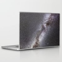 milky way Laptop & iPad Skins featuring Milky Way by Space99