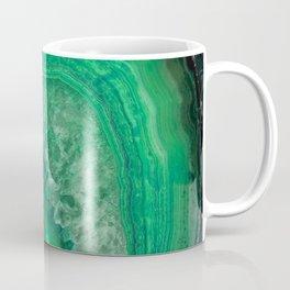 Green Emerald Agate Coffee Mug