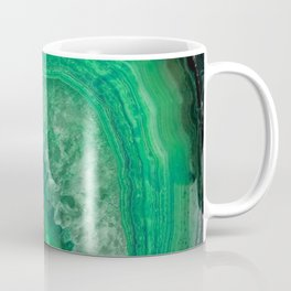 Green Emerald Agate Coffee Mug