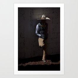 Rider portrait Art Print