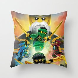 ninjago Throw Pillow
