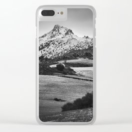 Trevenque. After The Snowstorm. Clear iPhone Case