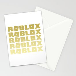 Roblox Gold Stack Adopt Me Stationery Cards