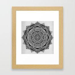 The Pattern Framed Art Print