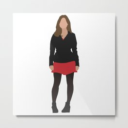 Clara Oswald: The Impossible Girl Metal Print