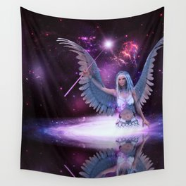 Space angel Wall Tapestry