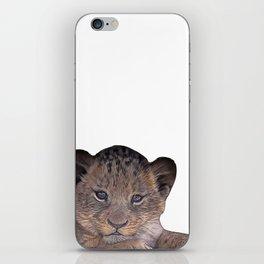 baby cheetah iPhone Skin