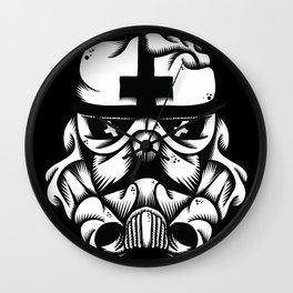 Satanic Trooper Wall Clock