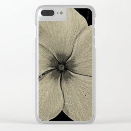 Vinca Clear iPhone Case