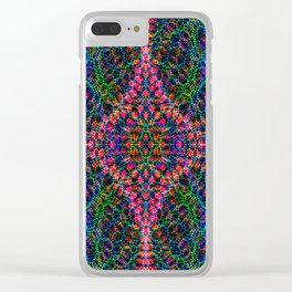 Diffract multi-color Clear iPhone Case