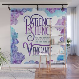 PATIENCE AND SILENCE Wall Mural