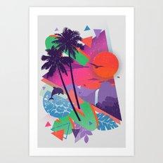 Tropix 96 Art Print