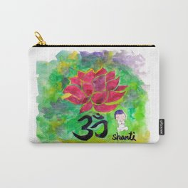 Om Shanti Carry-All Pouch