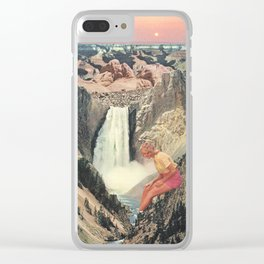 Grand Canyons Clear iPhone Case