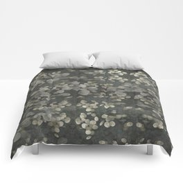"""""""Nacre pearls on silver river"""" Comforters"""