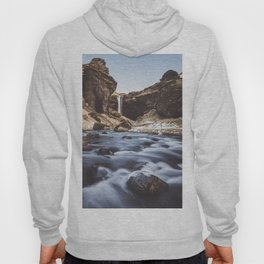 Secret waterfall - Landscape and Nature Photography Hoody