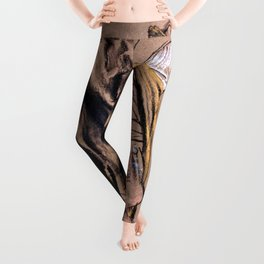 Adolph Menzel - Artist Model, Seen in Back View, Putting on an Eighteenth-Century Uniform - Digital Remastered Leggings