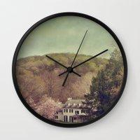 renaissance Wall Clocks featuring Renaissance by Maggie Green