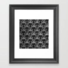 Dark D Framed Art Print