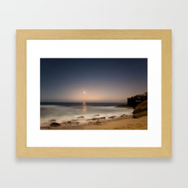 A light appeared Framed Art Print