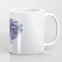 Dried Blue Hydrangea Coffee Mug