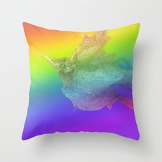Baba Yaga Bird Throw Pillow